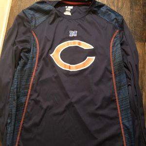 Navy chicago bears shirt